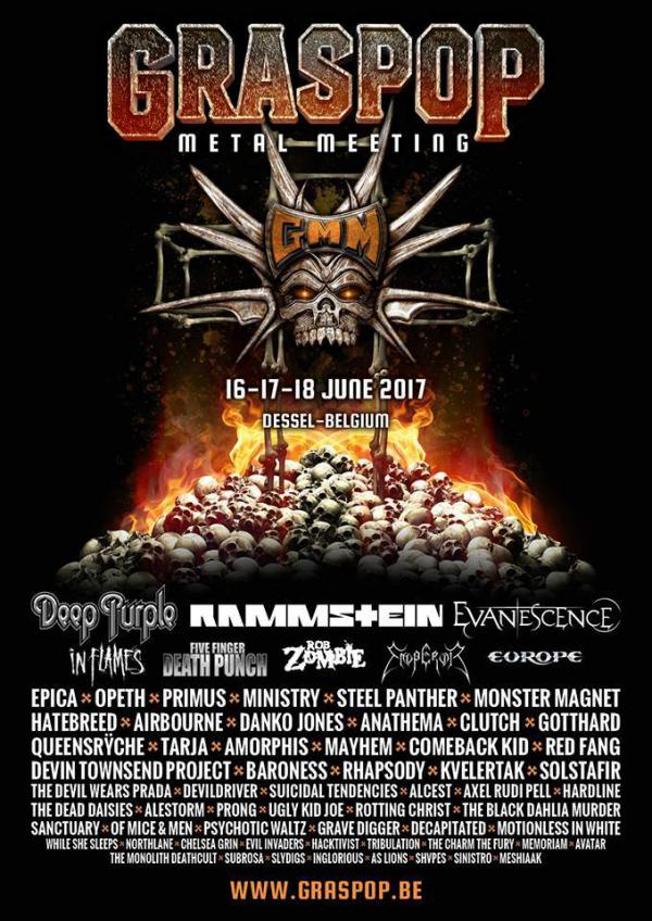 Gmm 2017 Europe Steel Panther In Flames Metalfans Be