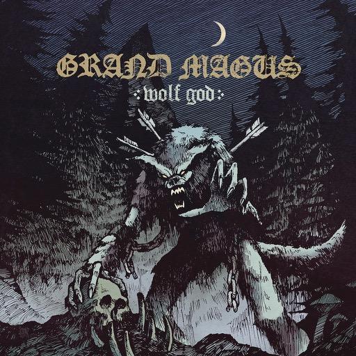 Grand Magus - Wolf God artwork