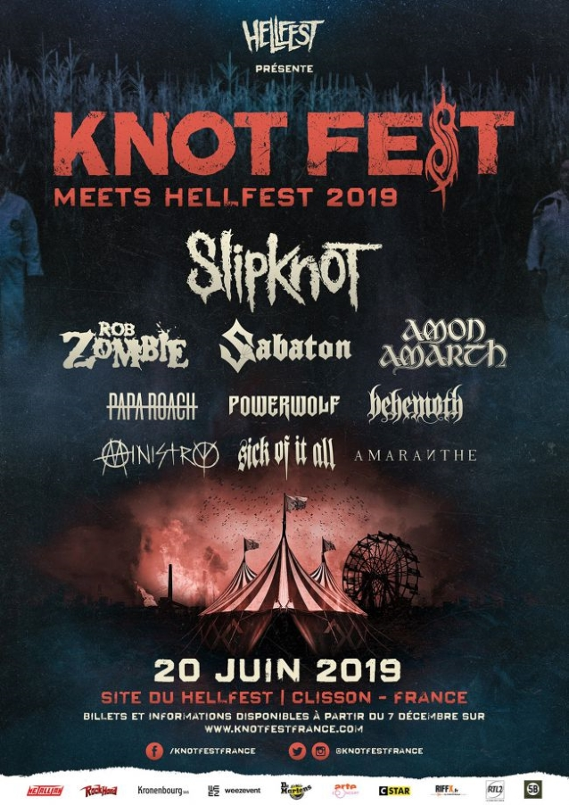 Knotfest Meets Hellfest 2019 affiche