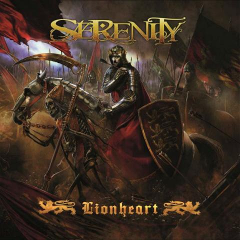Serenity - Lionheart abum artwork
